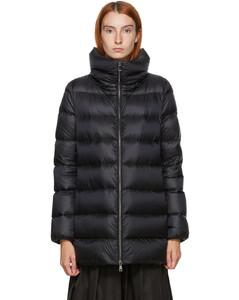 黑色Agnes羽绒夹克