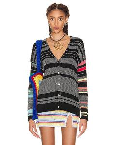 padded shoulder blazer