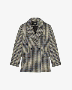 Golda double-breasted wool-blend jacket
