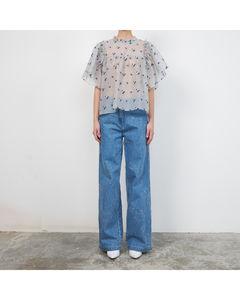 intarsia-knit wool jumper dress