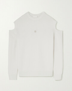 Grey Wool Blend Jacket With Pockets