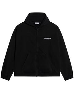 Black Turn Wide Fit sweatshirt