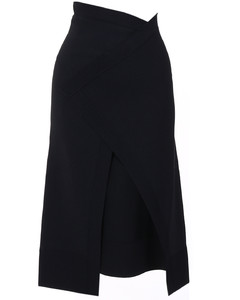 Longuette skirt black
