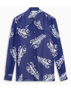Feather printed shirt