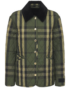 Dranefeld Check Quilted Jacket