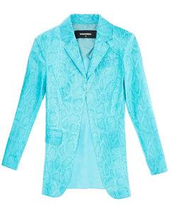 Scoop Neck One Piece Swimsuit in Black