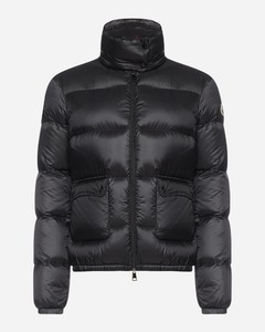 Lannic quilted nylon short down jacket