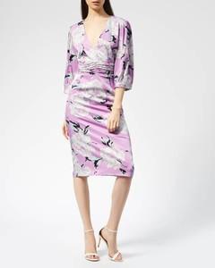 Women's Gwin Dress - Purple Flower