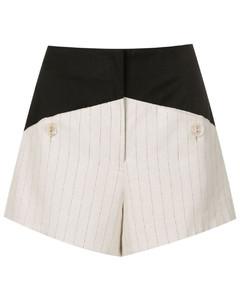 Taffeta belted midi dress
