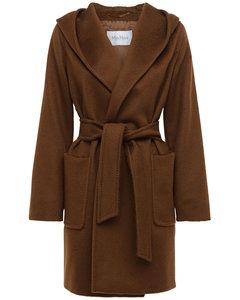 Rialto Hooded Camel Coat