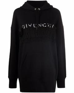 Lurex ribbed crewneck sweater