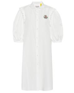 4 MONCLER SIMONE ROCHA embellished cotton dress