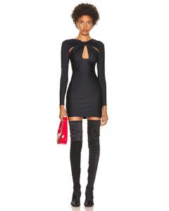 Mini Stripe Dress in Blue,White,Stripes