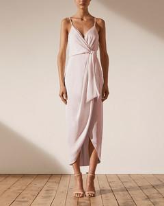 Silk Floral Asymmetric Dress