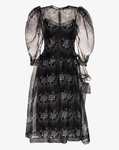 Single Bite puff sleeve dress