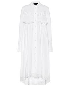 棉質府綢連衣裙
