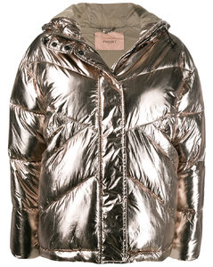 Belted Collarless Coat