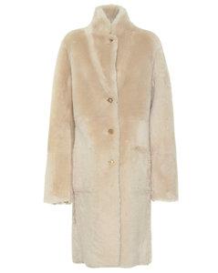 Brittany正反两穿羊毛皮大衣