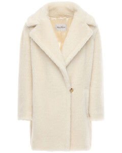Teddy Alpaca Wool & Silk Coat