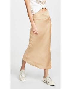 Normani斜紋半身裙