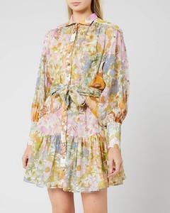 Women's Super Eight Lantern Mini Dress - Mixed Floral