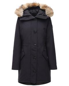Rossclair Down Parka W/ Fur Trim