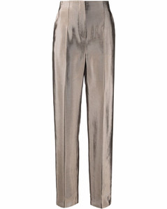 Double-breasted crepe mini blazer dress
