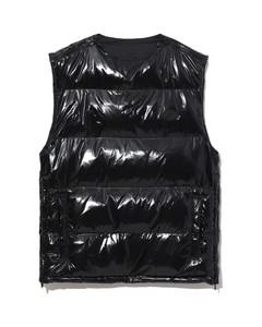 Puffy vest coat