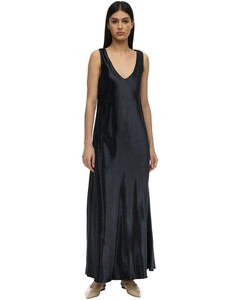 Natasha Viscose Satin Dress