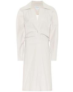 棉质混纺中长连衣裙