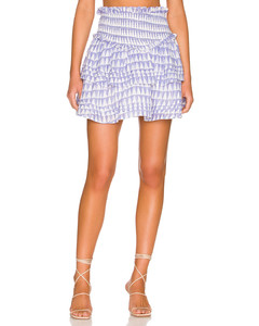 魚尾設計牛仔半身裙