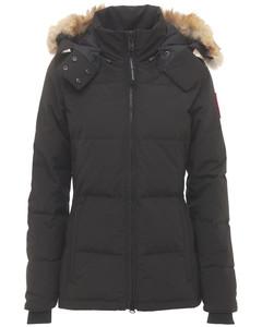 Chelsea Hooded Down Parka Coat