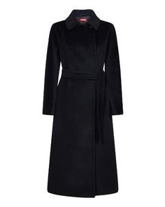 Faustine brown faux fur coat