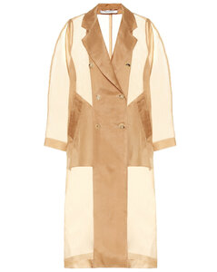 Materia silk-organza jacket