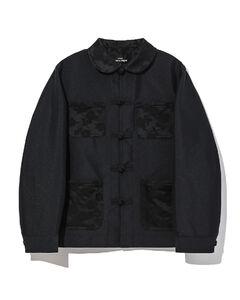 Tonal print jacket