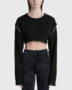 EMBROIDERED DRESS WITH GATHERED PANELS