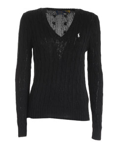 Polo Ralph Lauren Cable Knit V-Neck Pullover