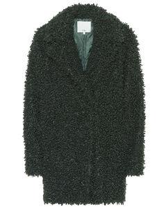 人造羊毛皮大衣