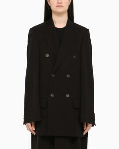 Alpaca and virgin wool coat