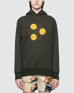 Smiles Embroidery Hoodie