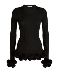Wool Pom-Pom Sweater