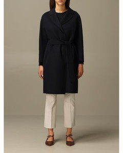 Arona coat in virgin wool