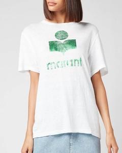 Etoile Women's Zewel T-Shirt - Green/white