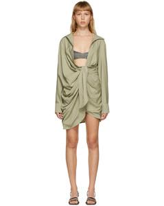 绿色La Robe Bahia连衣裙