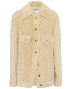 羊毛皮襯衫式夾克