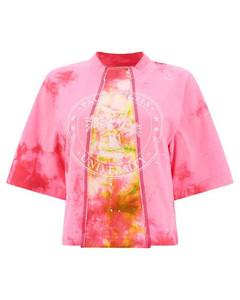 ETYA FLORAL PRINT DRESS L/S WHITE
