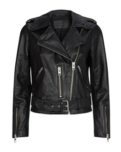 Leather Balfern Biker Jacket