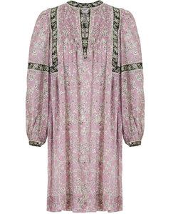 ETOILE VIRGINIE DRESS L/S PINK