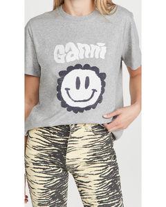 基本款棉质平纹针织T恤