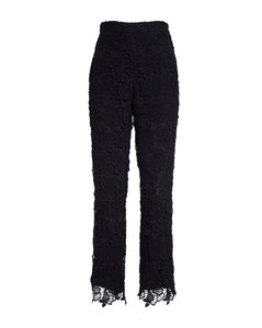 STAR PRINT VELVET DRESS L/S BLUE